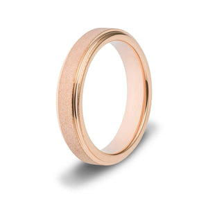 Women's Sandblasted Tungsten Ring