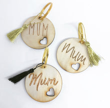 The Timber Mum Tags