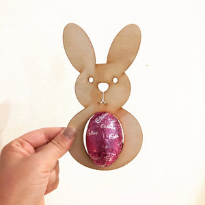 The Chocolate Egg Bunny