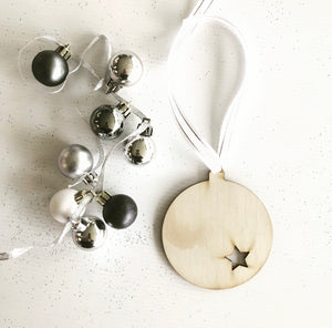 The Star Bauble Decoration