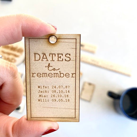 The Reminder Key Tag