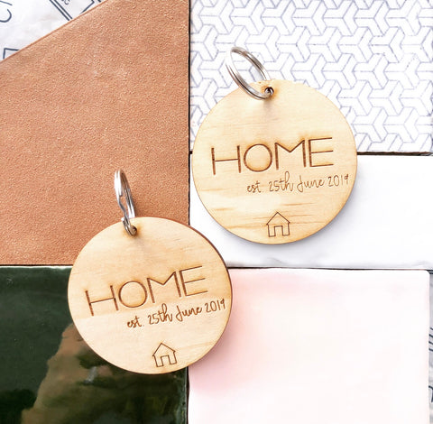 Custom Home Buyers Key Tag