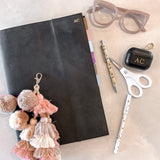 The Monogrammed Leather Diary Cover