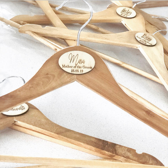 The Personalised Clothes Hanger
