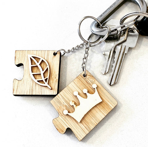 The Jigsaw Key Tag