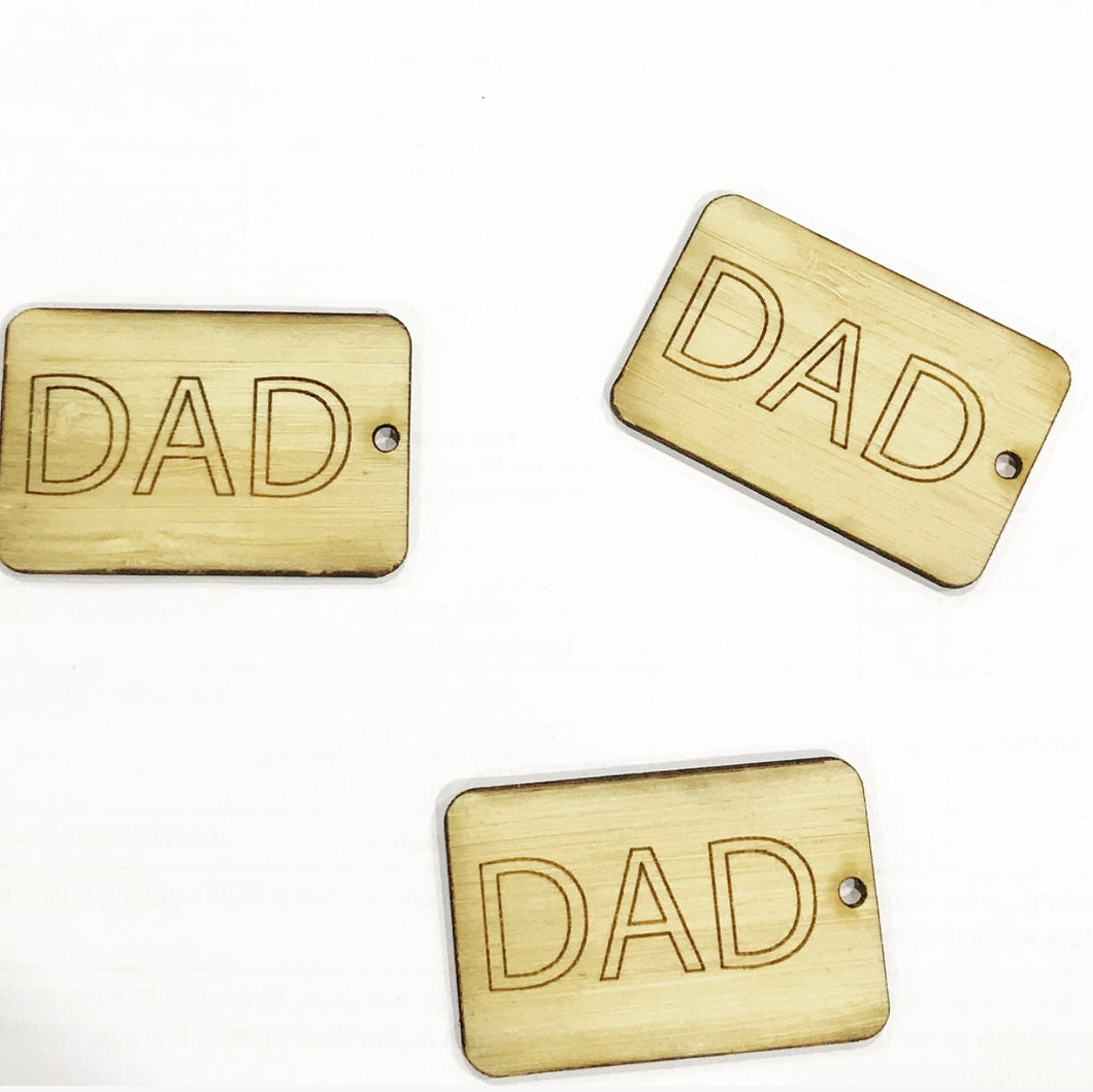 The DAD Gift Tag