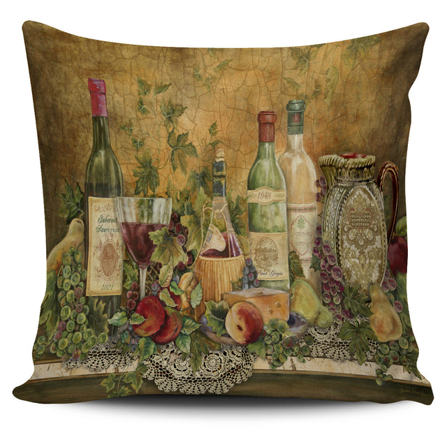 Wine Lovers Pillow Cover