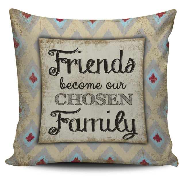 Friends and Family Pillow Cover