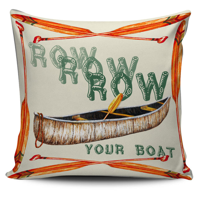 Row Your Boat Pillow Cover