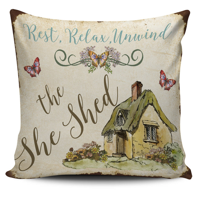 The Shed Pillow Cover