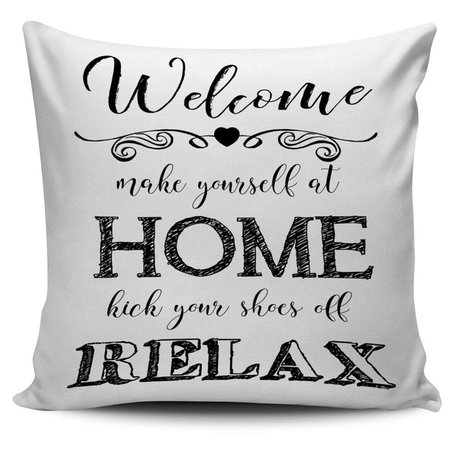 Welcome Home Pillow Cover