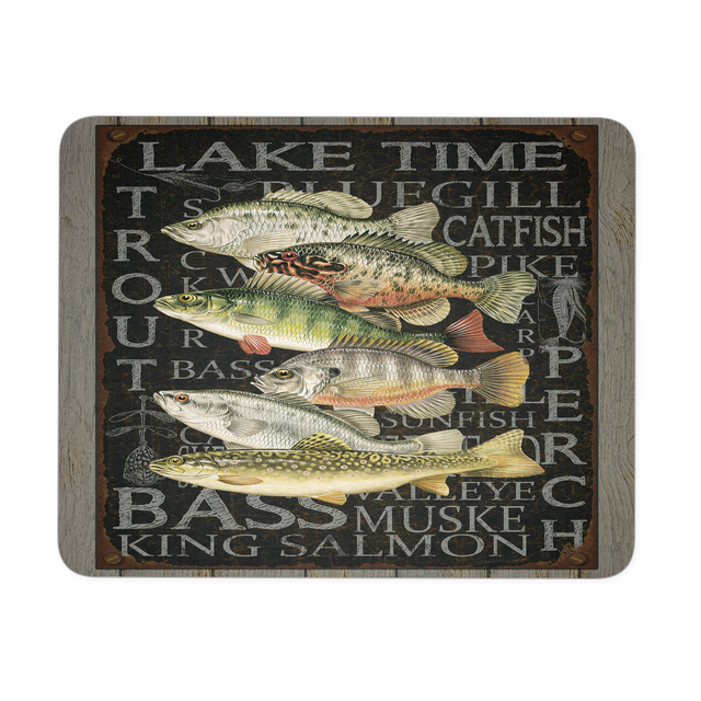 Trophy Fish Mousepad