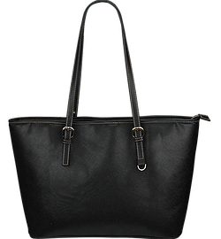 Front Large Leather Tote Bag