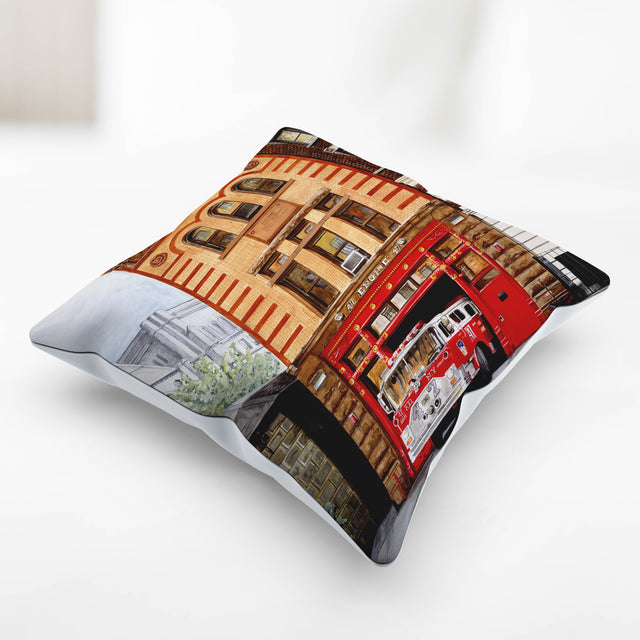 Life Of A Firefighter Pillow Cover (4 options)