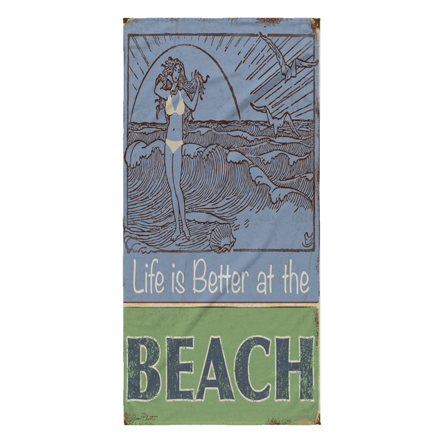 Life at the Beach towel
