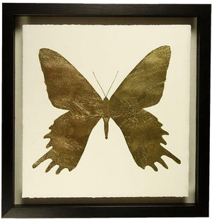 Gold Leaf Butterfly