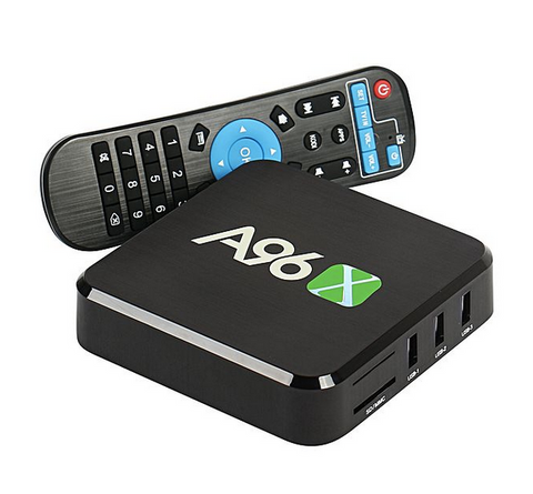 TV BOX A96 SERIE - B7N Smart TV Box Quad core Amlogic S905X