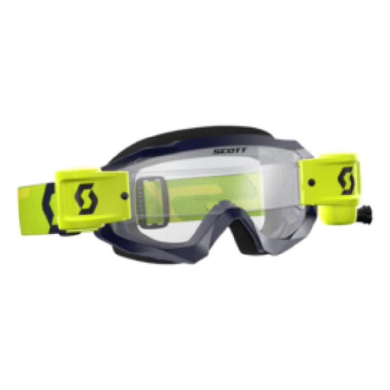 Motorsport Goggles - Hustle WFS Motocross Off Road Goggles - 268184 - Action Pro Sports
