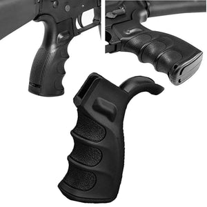 Lower Receiver Pistol Grip - Enhanced/Black | Action Pro Sports
