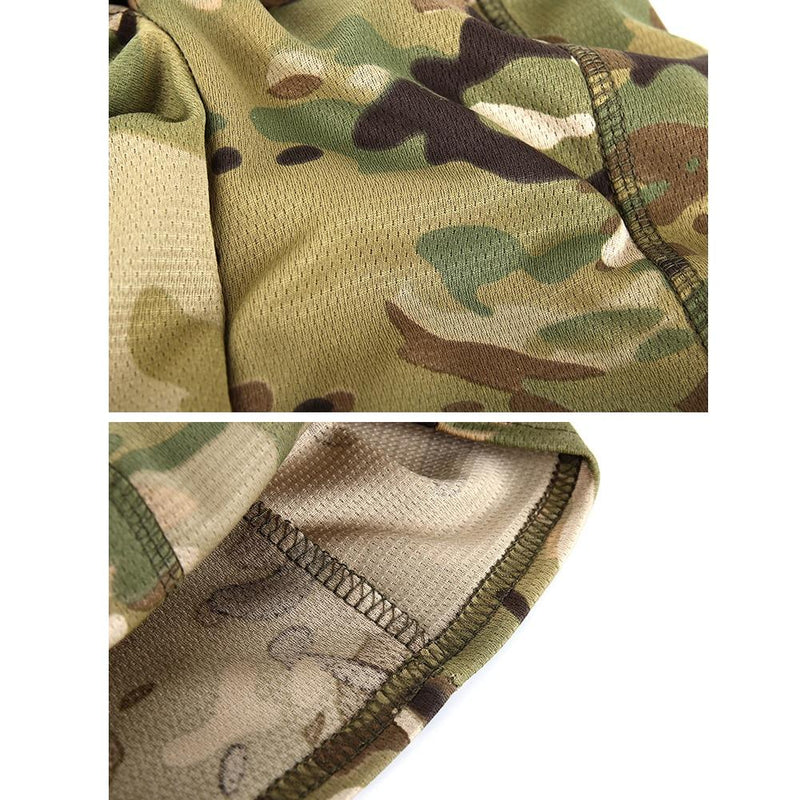 Lightweight Balaclava Hood - Light Green Camo | Action Pro Sports