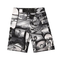 Men's Board Shorts - B&W Snapshots | Action Pro Sports