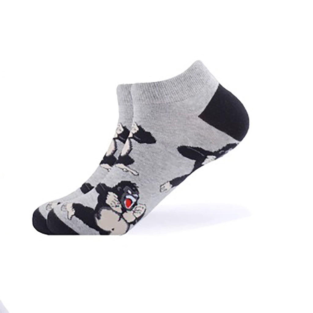 Grey King Kong Ankle Socks - Action Pro Sports