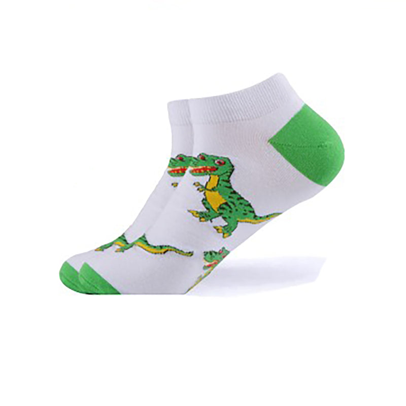 White T-Rex Ankle Socks - Action Pro Sports