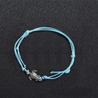 Silver Turtle Anklets - Action Pro Sports