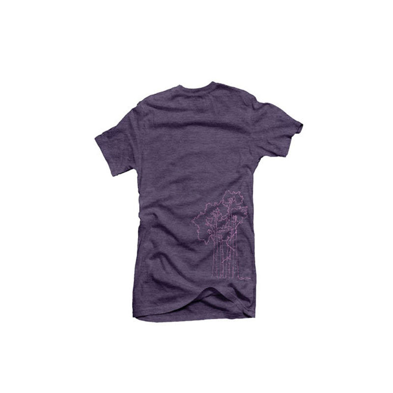 Aspen Tee Women's Shirt - Loganberry | Action Pro Sports