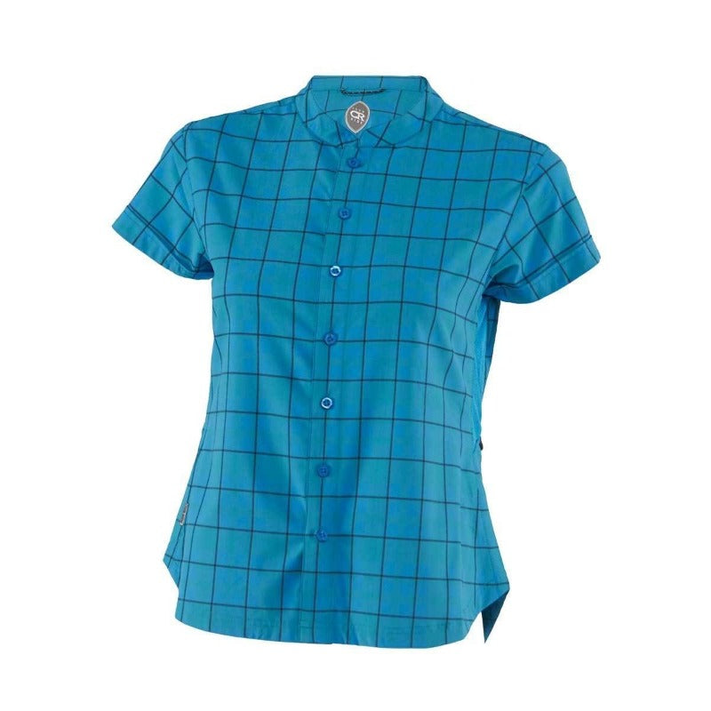 Belle Vista Women's Shirt - Caribbean Blue | Action Pro Sports