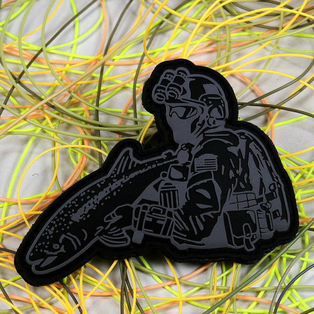 Operator Morale 3D PVC Patch - Action Pro Sports