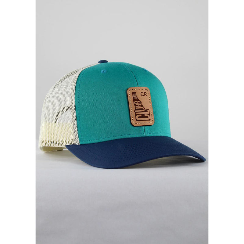 Classic CR Logo Trucker Hat - Teal/Birch | Action Pro Sports