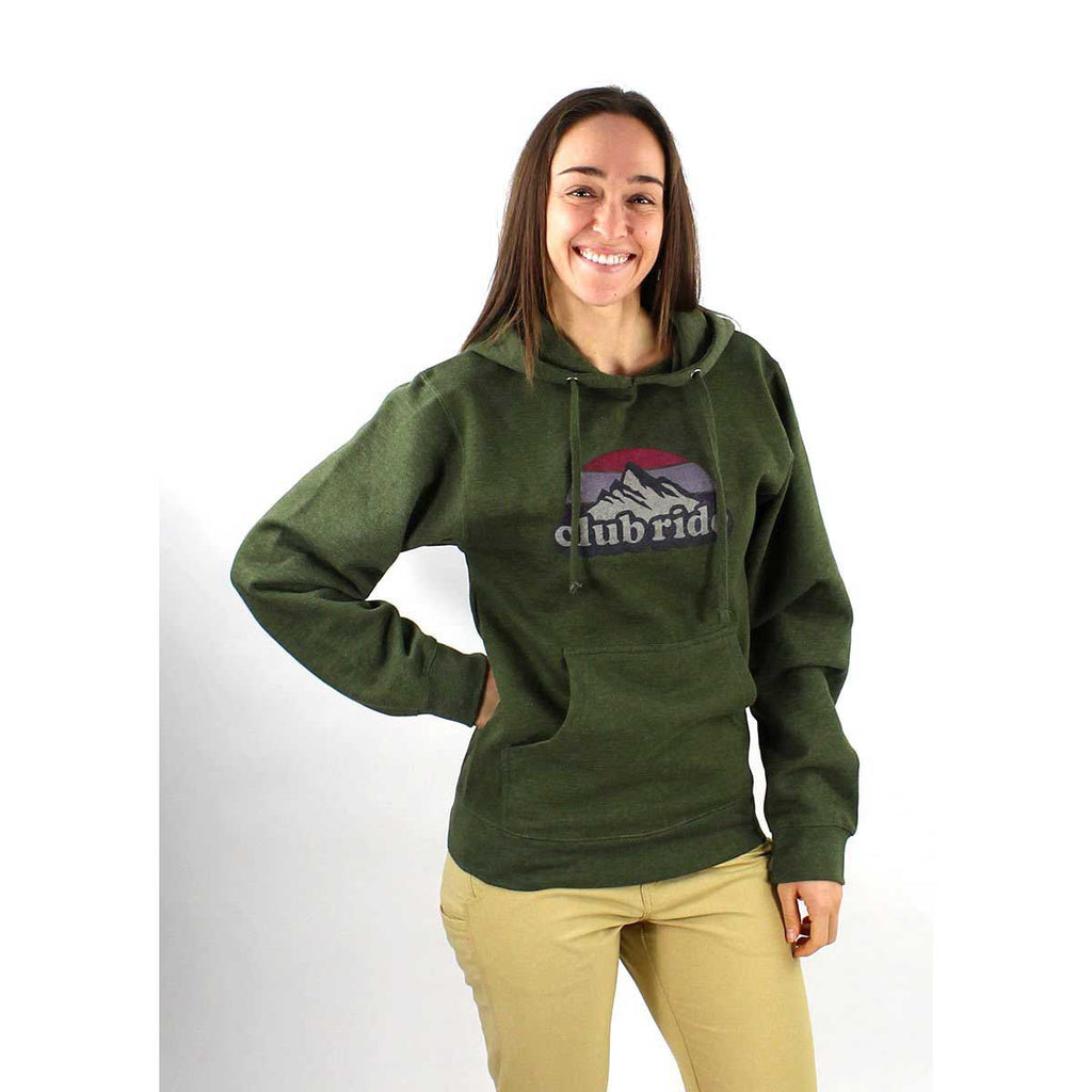 Standard Retro Women's Hoody - Olive Green | Action Pro Sports