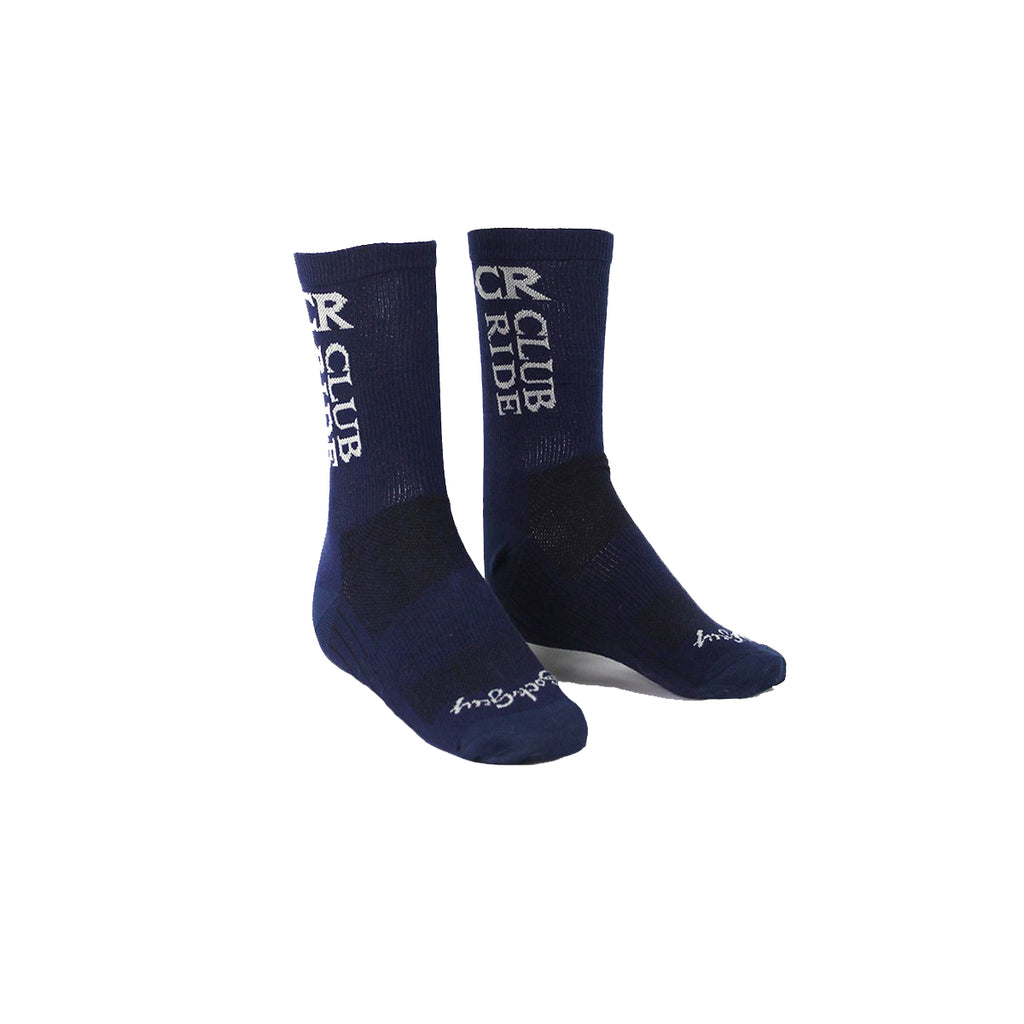Club Ride Socks - Navy Logo