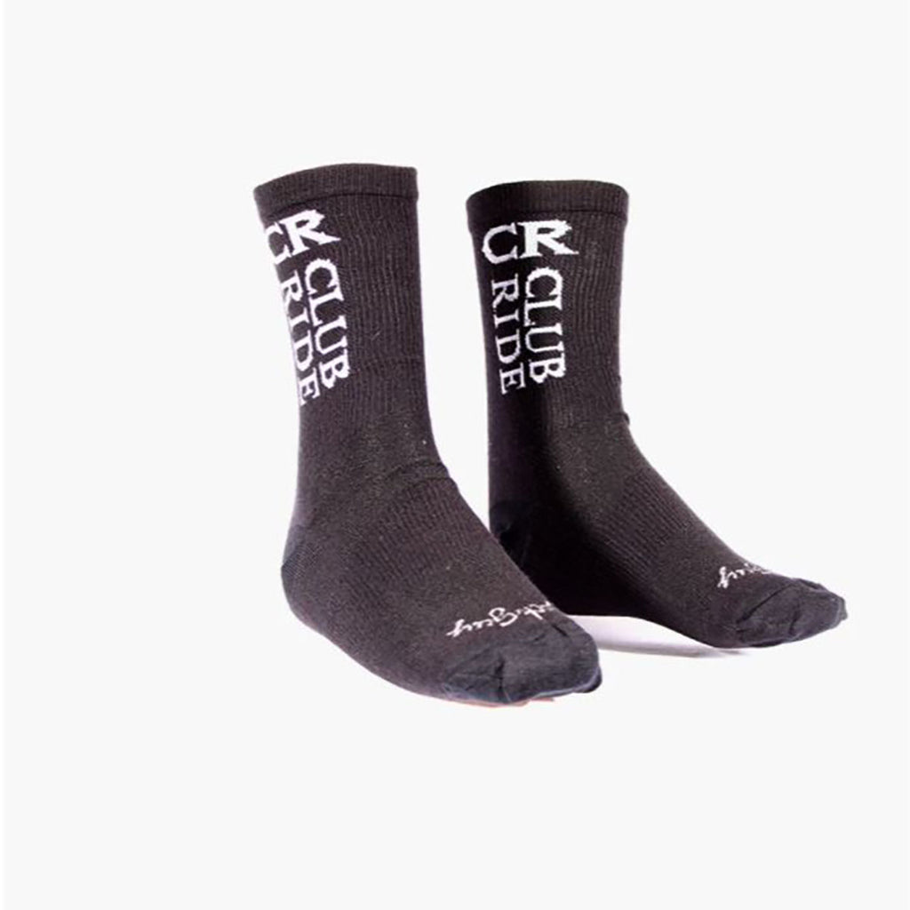 Club Ride Socks - Black Logo | Action Pro Sports