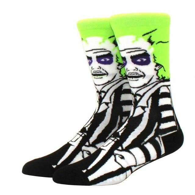 Beetlejuice Crew Socks | Action Pro Sports