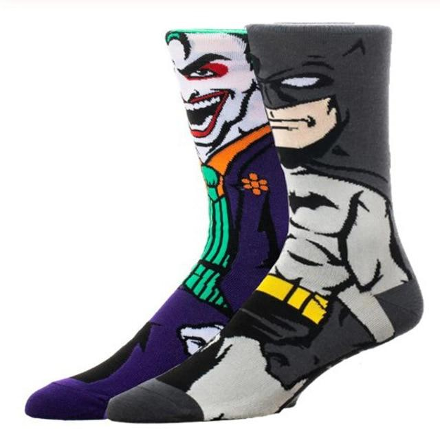 Batman & Joker Crew Socks | Action Pro Sports