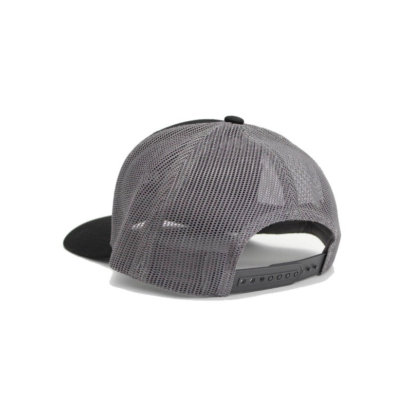 Crest Trucker Hat - Black | Action Pro Sports
