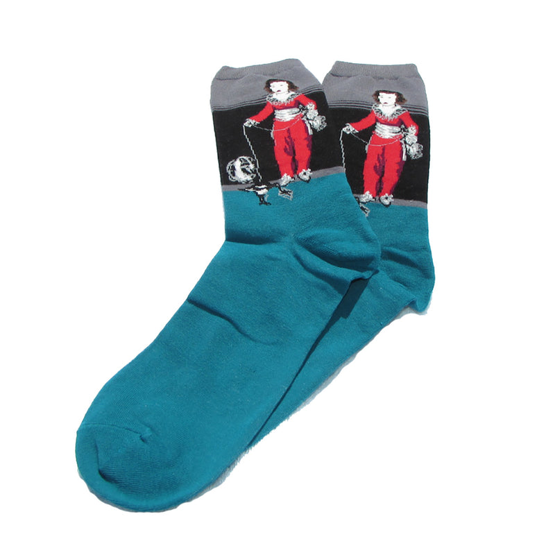 Cool Socks Dude - Sport & Dress Socks - Boy With Toy Crew Socks - Action Pro Sports