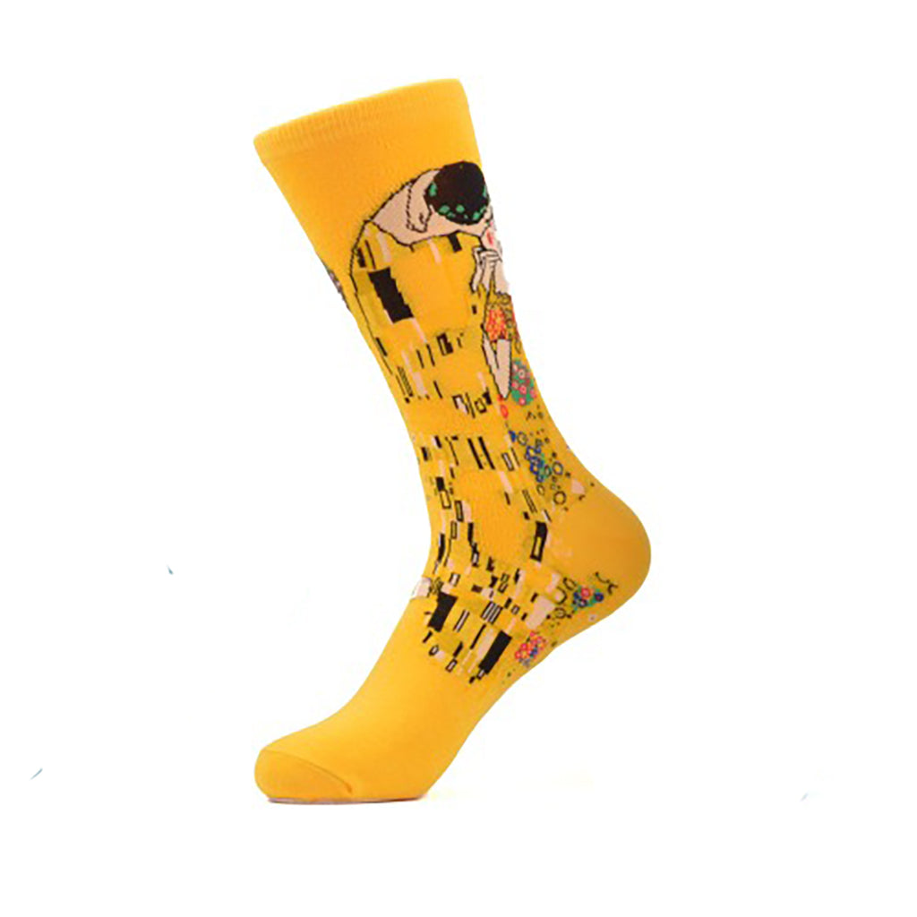 Kissing Geisha Crew Socks - Action Pro Sports