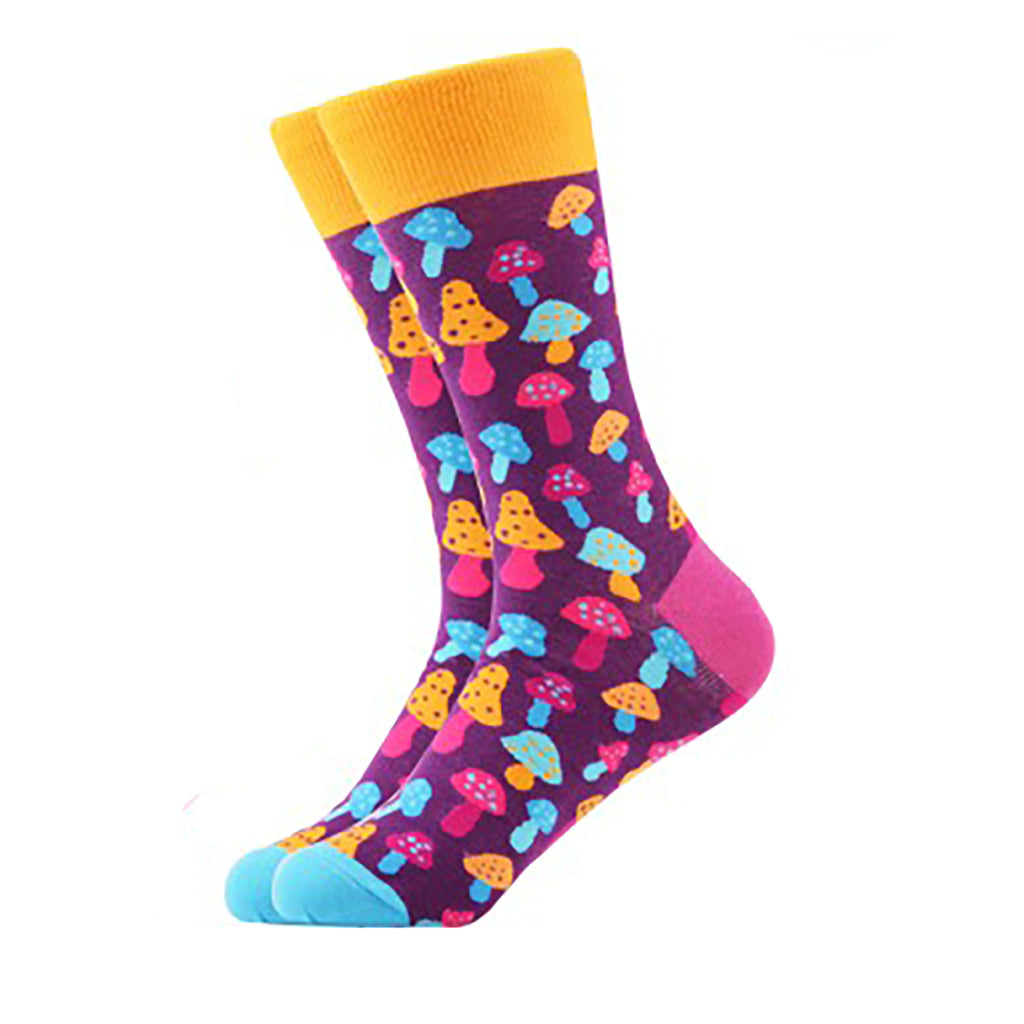 Magic Mushroom Crew Socks - Action Pro Sports