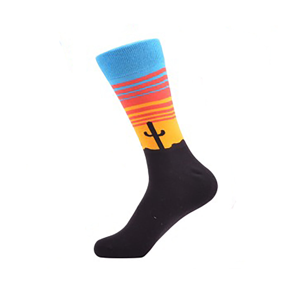 Southwest Cactus Crew Socks - Action Pro Sports