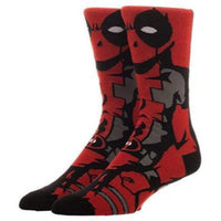 Cool Socks Dude - Sport & Dress Socks - Deadpool Crew Socks - Action Pro Sports
