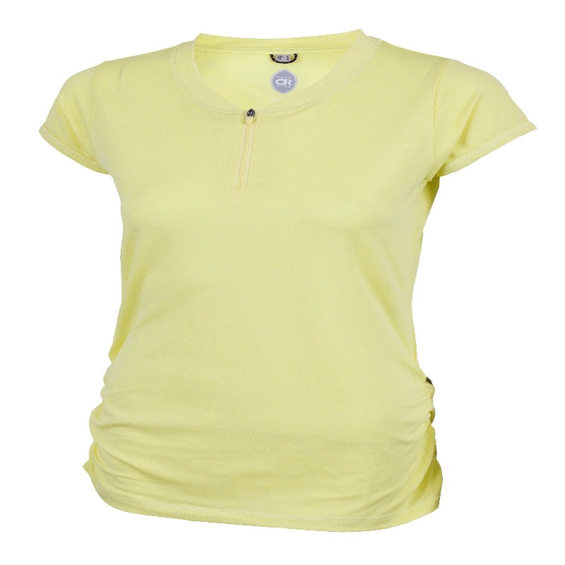 Deer Abby Women's Shirt - Yellow | Action Pro Sports
