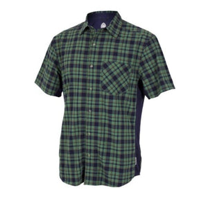 Detour Men's Shirt - Navy Plaid | Action Pro Sports