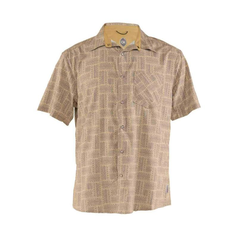 Detour Men's Shirt - Khaki Tread | Action Pro Sports