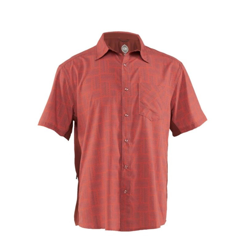 Detour Men's Shirt - Ochre Tread | Action Pro Sports
