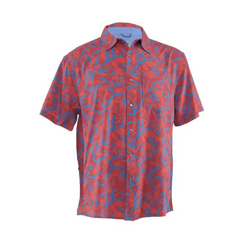 Detour Men's Shirt - Spicy Cayenne | Action Pro Sports