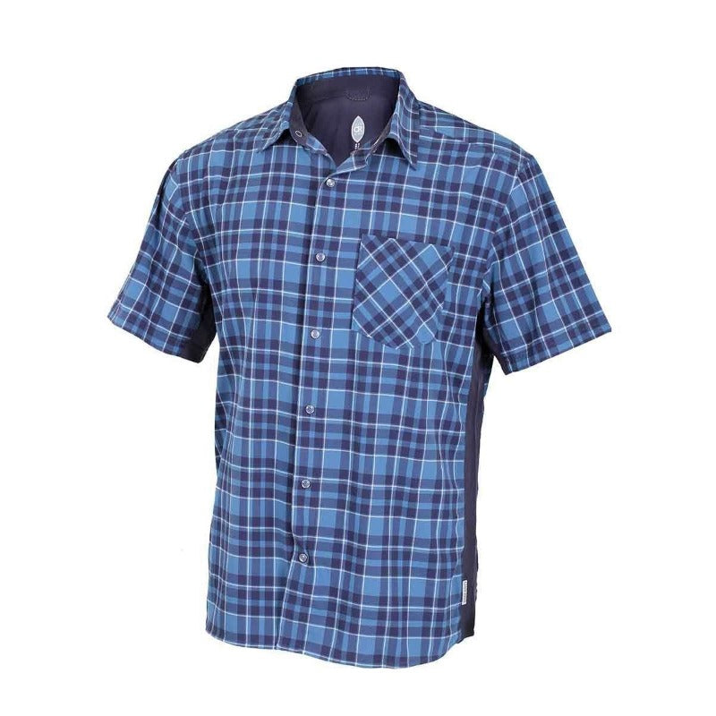 Detour Men's Shirt - Steel Blue | Action Pro Sports