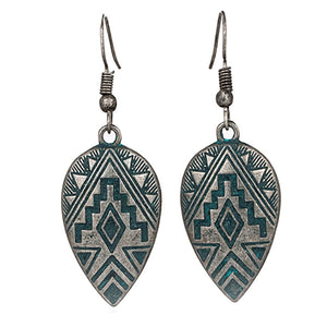 Teardrop Dangle Earrings - Action Pro Sports